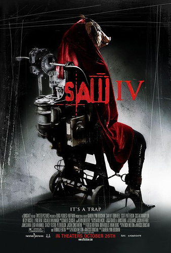 óPóster definitivo de Saw IV?